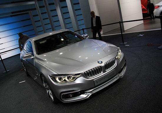 ...宝马驰品牌正式发布了宝马4系概念车.这款概念车预计在今年...