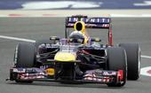 图文:F1巴林站排位赛 维特尔过弯瞬间