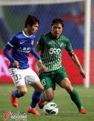 中超图:上海申鑫2-1绿城 33号的对抗