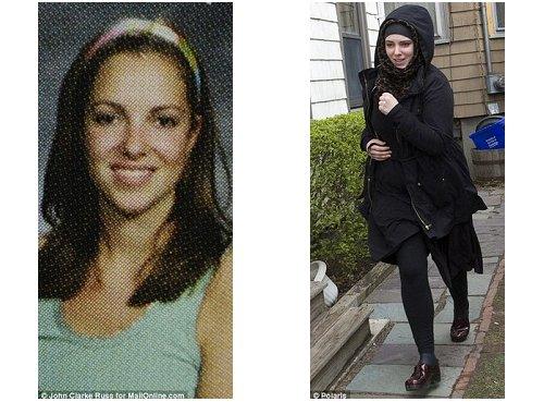 波士顿爆炸案一号嫌犯塔梅尔兰的妻子罗素尔