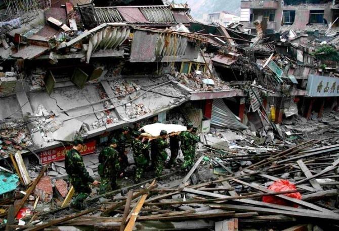 中国汶川大地震