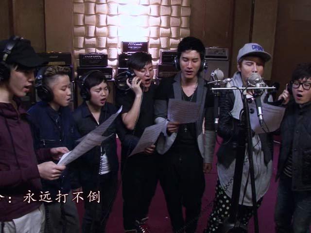 《中国好声音第二季视频报道》《永远垮不掉》MV 好声音学员祈福雅安