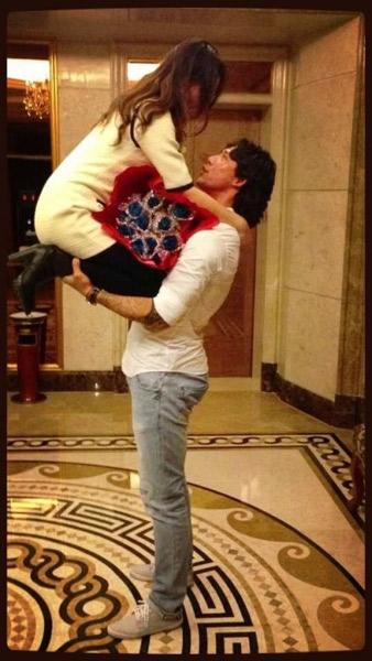 张琳芃感恩与妻相遇五周年 网友赞有男人味(图)