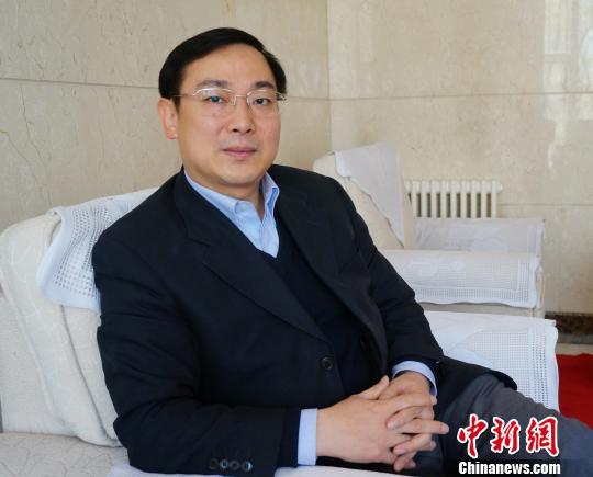中华文化发展促进会副会长辛旗 路梅 摄
