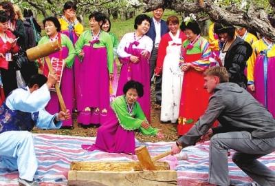 走进中国少数民族民俗:朝鲜族(1)_自然地理_光明网(组图)
