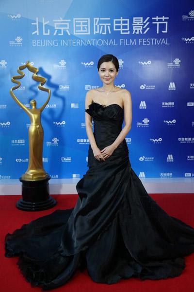 张瑞希出席北京国际电影节