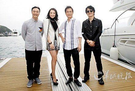 四位导师陈奕迅、章子怡、罗大佑、郑钧(图片来源:羊城晚报)