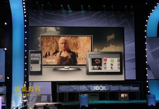 SmartGlass可以用智能手机和平板电脑的触摸屏控制Xbox 360