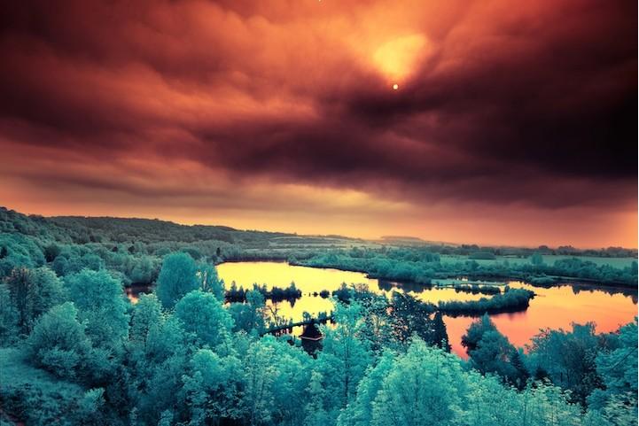 极致美景 红外线下的世界(图)