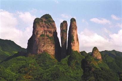 神州丹霞第一奇峰