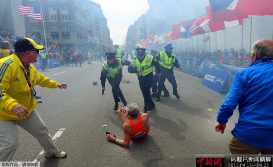 波士顿爆炸伤者接受手术复健心理治疗 开支高昂