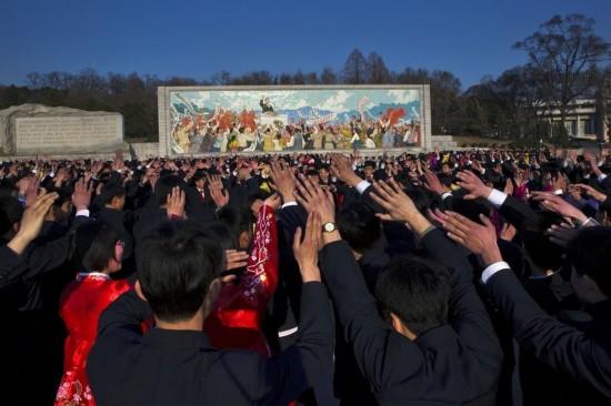 朝鲜首都平壤 朝鲜平壤 朝鲜平壤城市图片高清图片