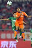 中超图:杭州绿城3-3山东鲁能 王林比赛中争顶