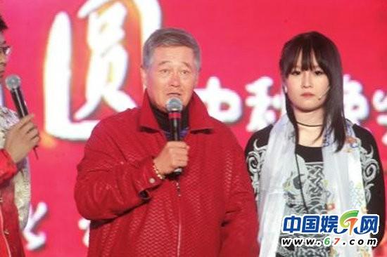 赵本山 毕福剑/赵本山与女儿妞妞