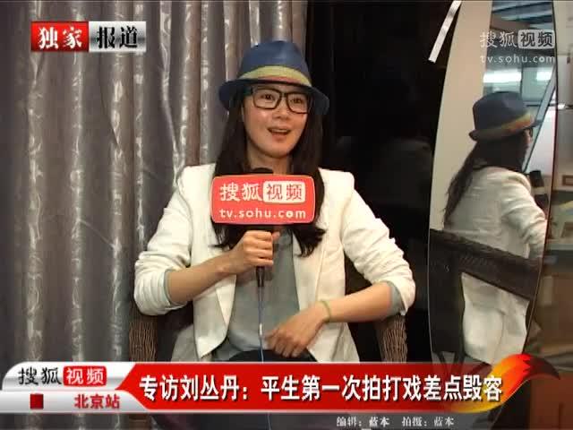 专访刘丛丹:平生第一次拍打戏差点毁容