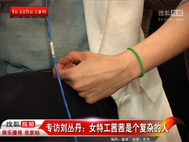 专访刘丛丹:女特工茜茜是个复杂的人
