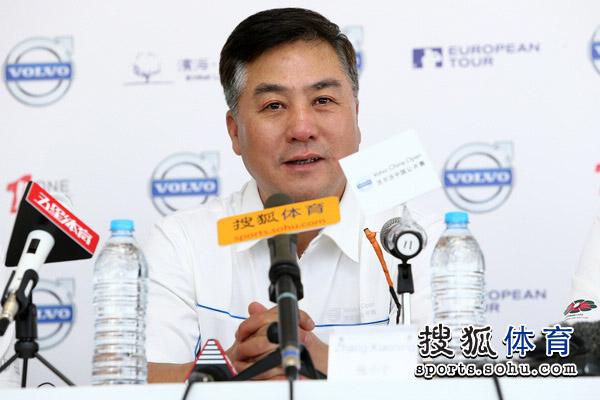 中国高尔夫球协会副主席兼秘书长张小宁