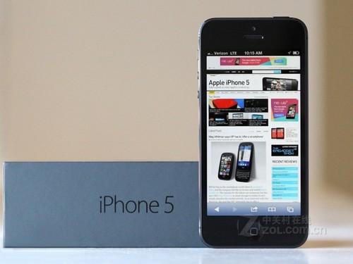 更轻更薄更快 行货iPhone 5降至4799元