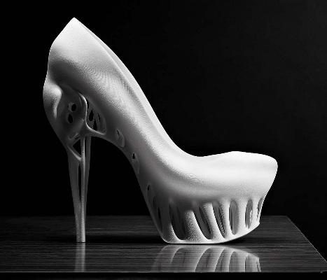 鞋子的正面画法