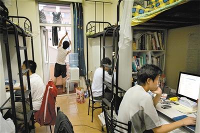 宿舍_个学生社区也就是宿舍区