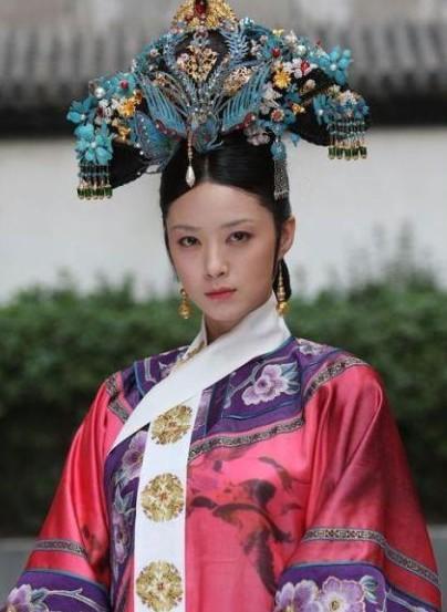 蒋欣在《甄嬛传》中扮演华妃,翊坤宫为华妃寝宫(资料图)