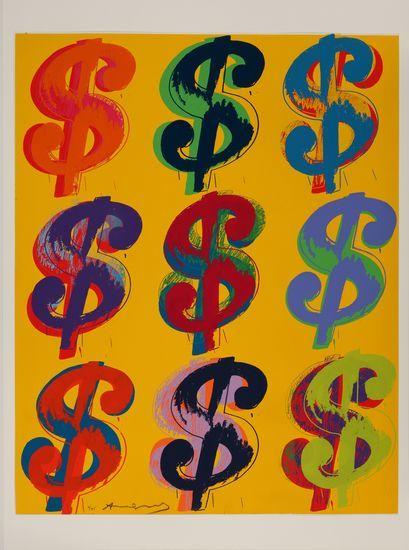 安迪·沃霍尔作品《$9》