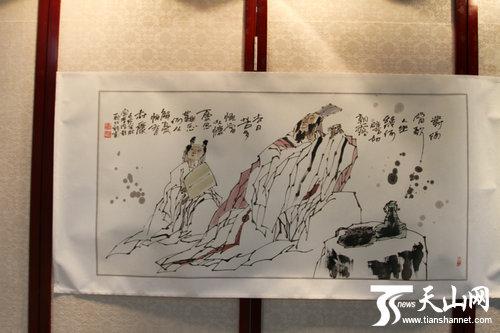 自治区政协机关举办书画交流会(组图)图片