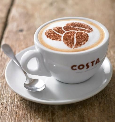 阳光洒满的午后,约上好友或爱人,在意境醇美的costa coffee品尝一杯香