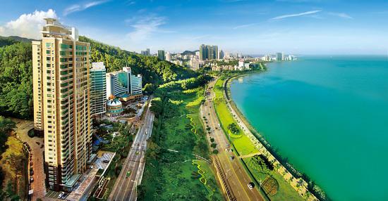 珠海海滨风情