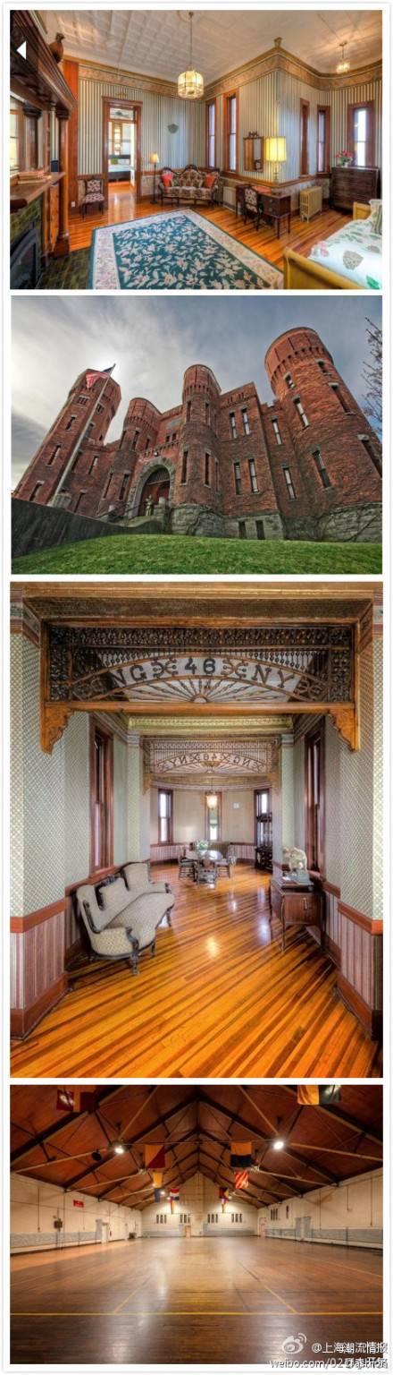 纽约4000平米古堡百万美元 北京可买70平学区房(组图)