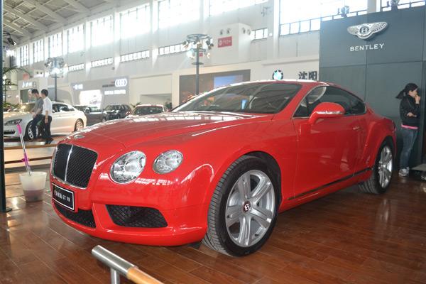 宾利全新欧陆GT V8