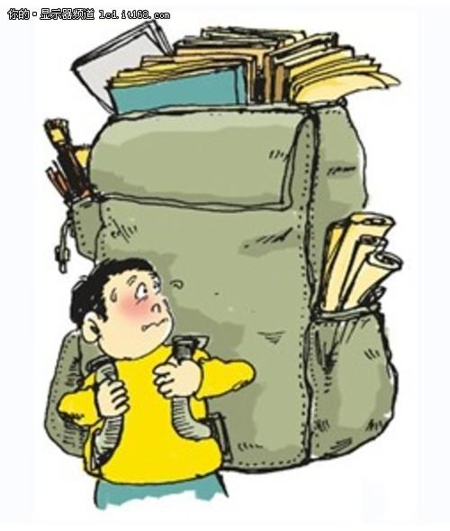 我的书包怎么越来越沉
