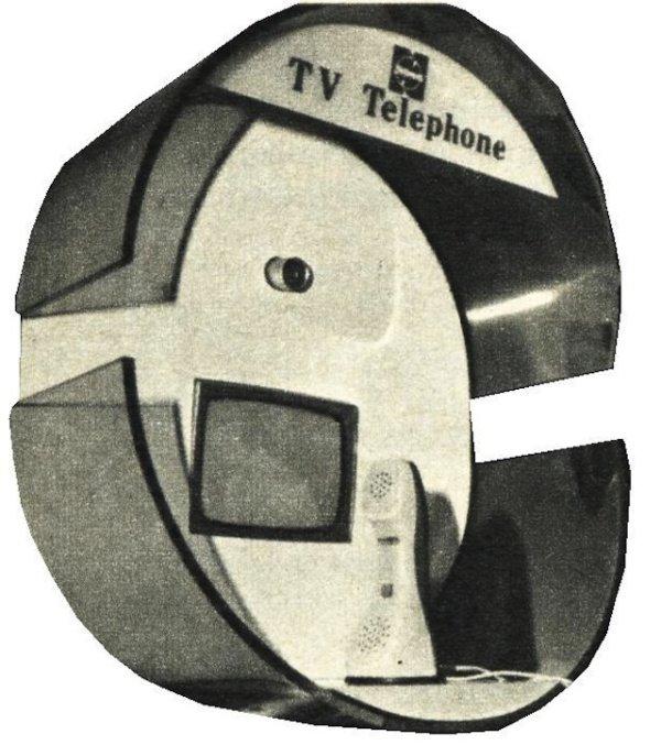 马特拉公司的可视电话,1970