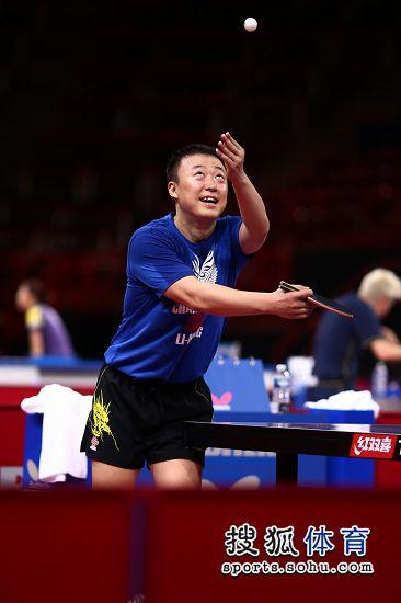 价格:中国乒乓球队备战世乒赛马琳高抛舞狮-搜狐图文发球仔体育图片