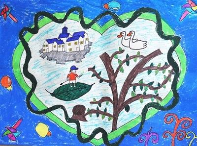幼儿园大班的小朋友画画应该是什么样子的答:关于春天来了的画