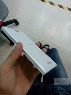 索尼S39h谍照曝光(图片引自Xperia Blog)