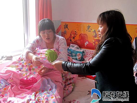 为产后15天的张晓妮送 幸福