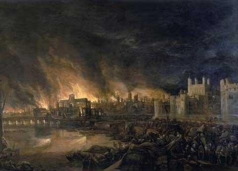 1666年伦敦大火 烧死老鼠烧旺城市