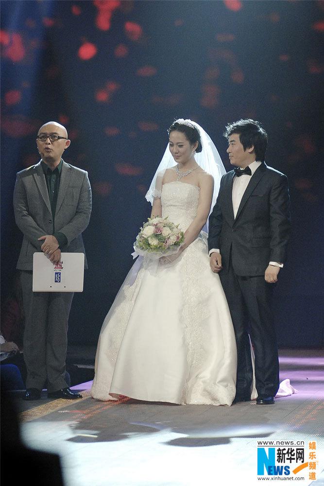 非诚美女 敖铭嫁杨磊 《非诚勿扰》首成婚礼现
