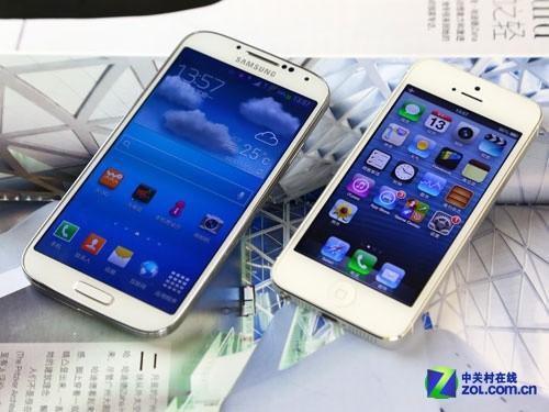 苹果5与三星s4�:/�_跨平台大战 三星s4/苹果iphone5硬件pk