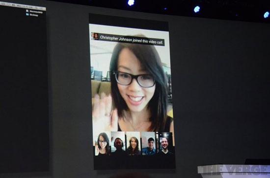 谷歌推出小数全新群聊意义v小数ios等多视频(图)版平台系统的北师大课说稿图片