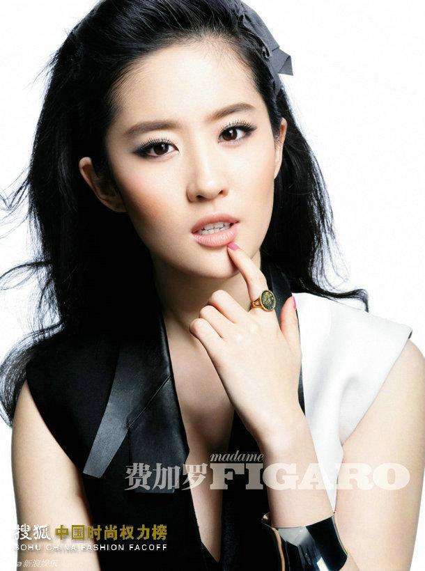 王龙伟掌镜:刘亦菲《费加罗》六月封面大片-搜