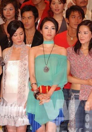 黎姿与TVB众女星