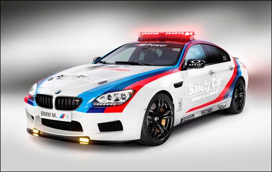 基于全新M6四门轿跑车打造的MotoGP安全车