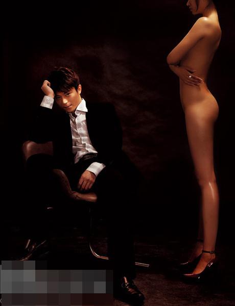 看美女明星与性感男模如何上演激情互动 搜狐女人