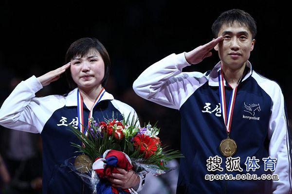 朝鲜组合:冠军献给伟人金正恩