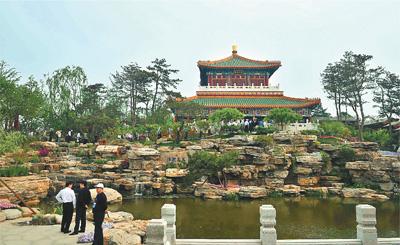 北京园博园景点介绍 北京园博园景点 北京园博园经典景点 高清图片