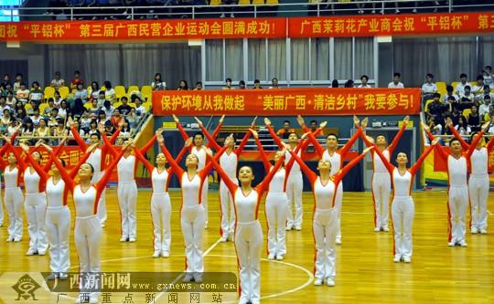 第三届广西民营企业运动会在邕开幕(图)
