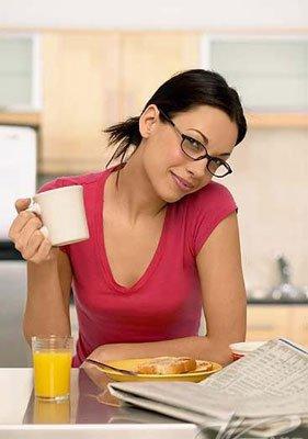 嫌疑人:不吃早餐。