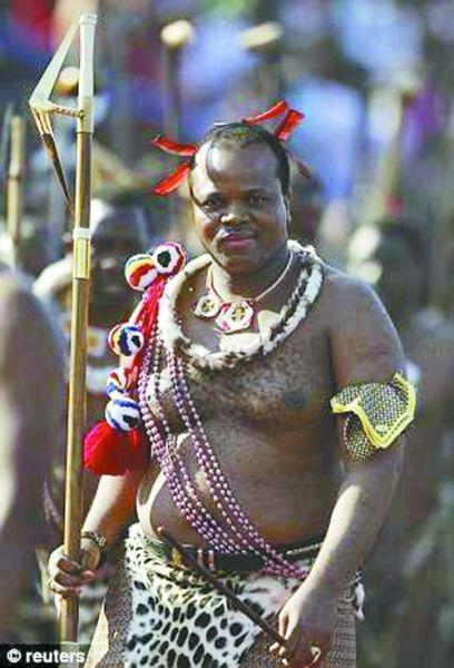 非洲国王发出追妻令